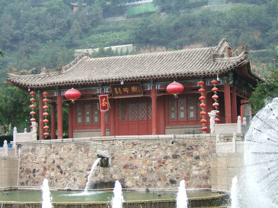 The imperial bath houses of Huaqing
